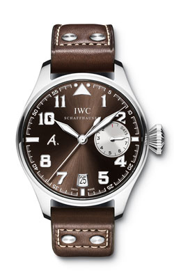 IWC: Vente de la montre Big Pilot