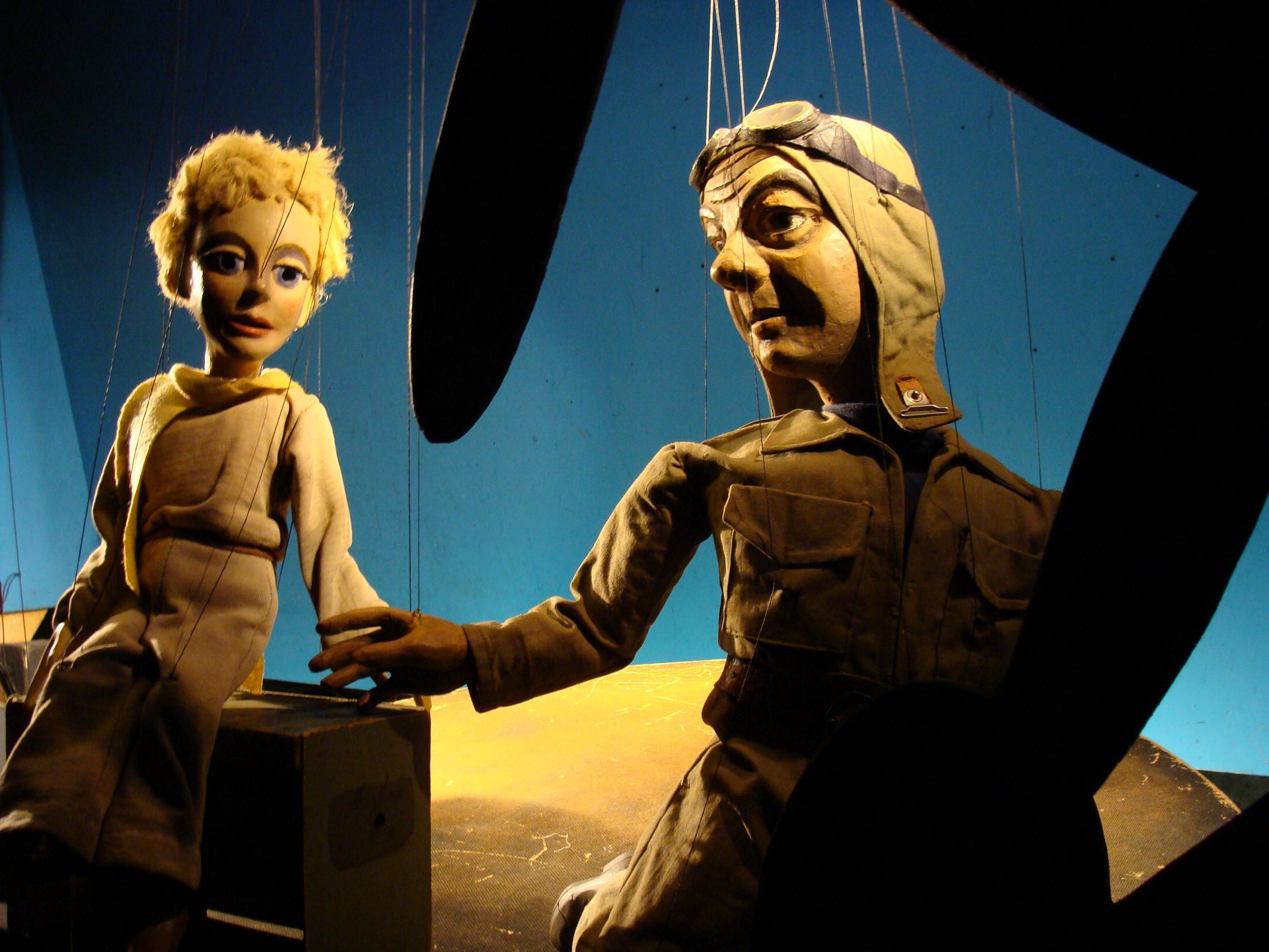 Der Kleine Prinz au Theatre de Marionnettes de Bale