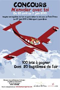 Concours-baptême de l'air avec Les Ailes du Petit Prince