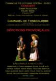 Un concert en l'honneur de Fonscolombe
