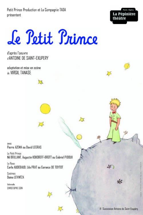 Le Petit Prince à La Pépinière Théâtre