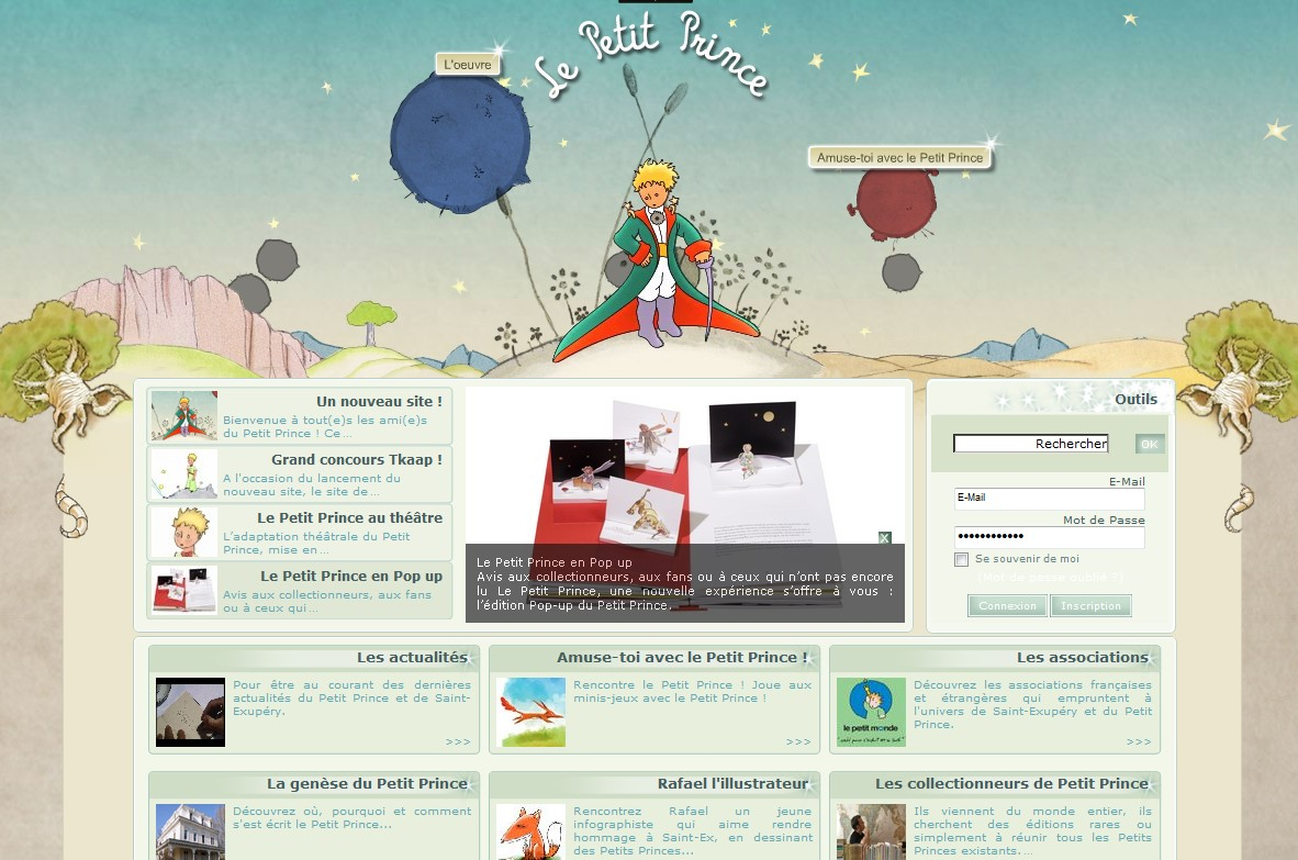 Le Petit Prince rénove sa planète
