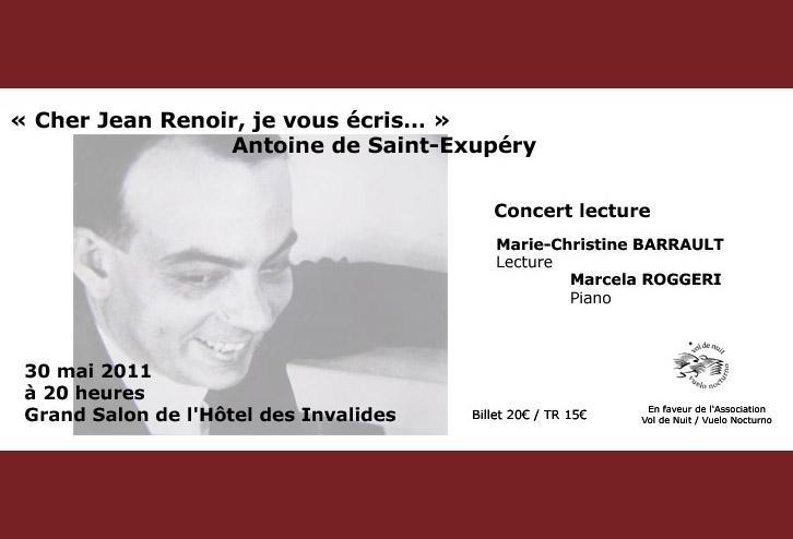 Concert lecture «Cher Jean Renoir…»