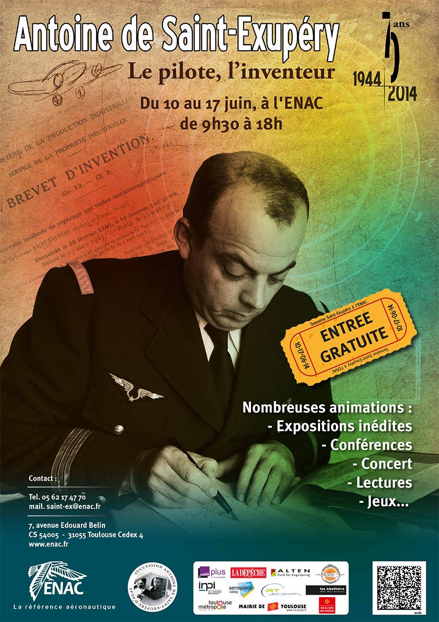 10-17 juin 2014 : semaine Antoine de Saint-Exupéry à l'ENAC