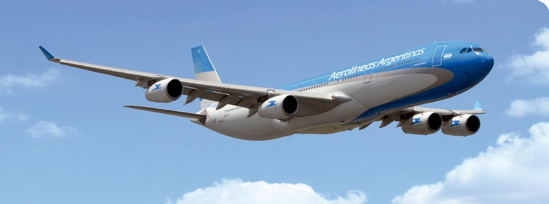 Aerolineas Argentinas rend hommage à l'auteur de