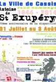La Ville de Cassis rend hommage à Antoine de Saint Exupéry