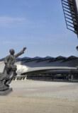 Inauguration de la statue d'Antoine de Saint Exupéry à l'aéroport de Lyon