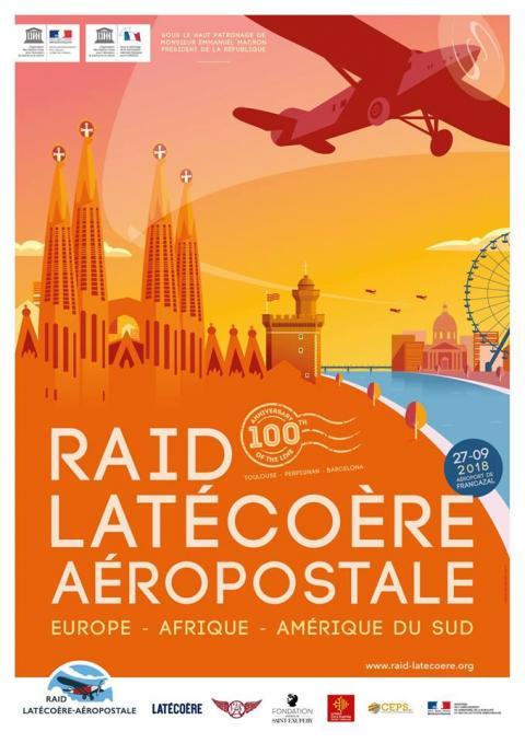 Un équipage Saint Ex au Raid Latécoère – Aéropostale 2018