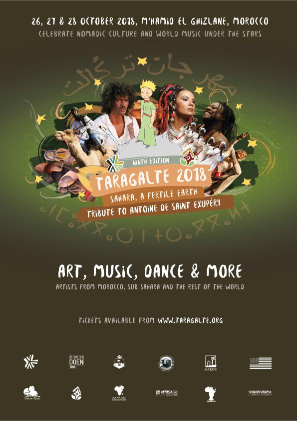 Hommage à Antoine de Saint Exupéry au Festival Taragalte 2018